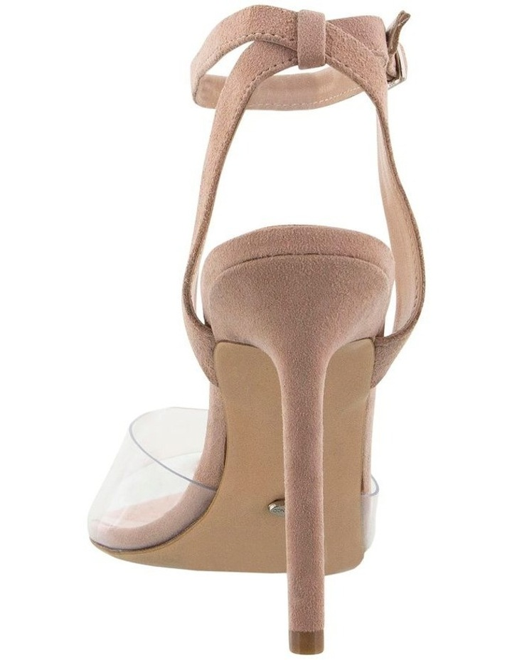 Maxime Clear Vynalite/Blush Kid Suede image 4