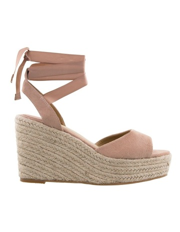 aed03acd4744 Tony Bianco Farah Blush Kid Suede
