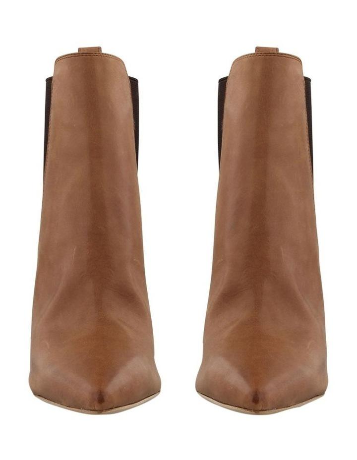 Locky Caramel Diesel Choc Wax Ankle Boot image 2