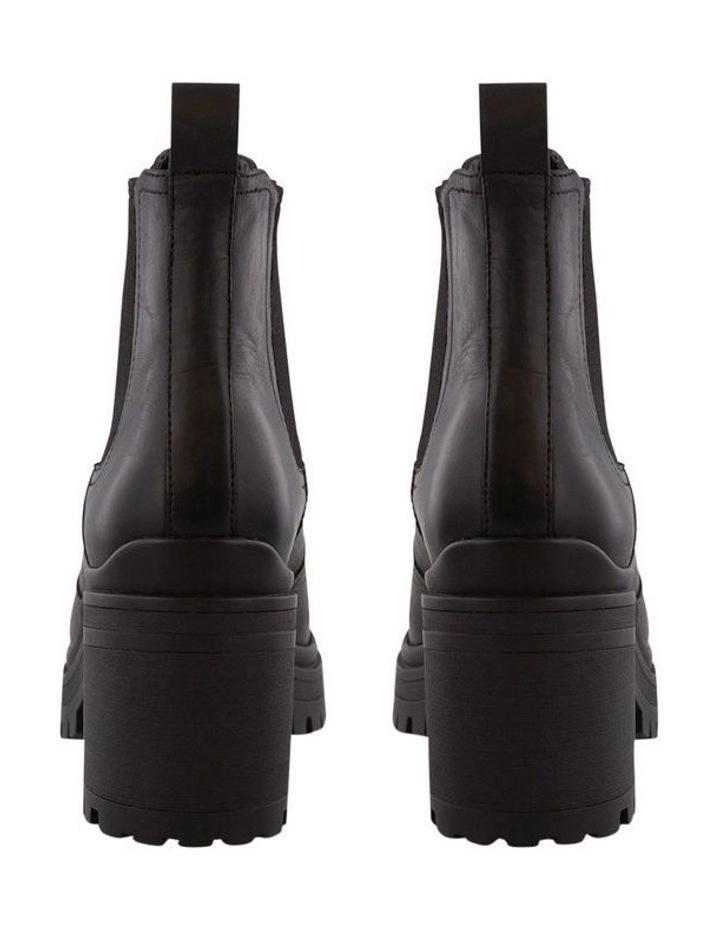 Rumble Black Diesel/Black Wax Ankle Boots image 4