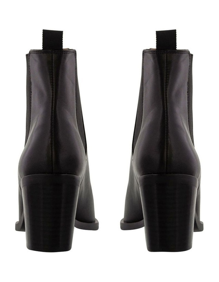 Sabrine Black Como Ankle Boot image 4