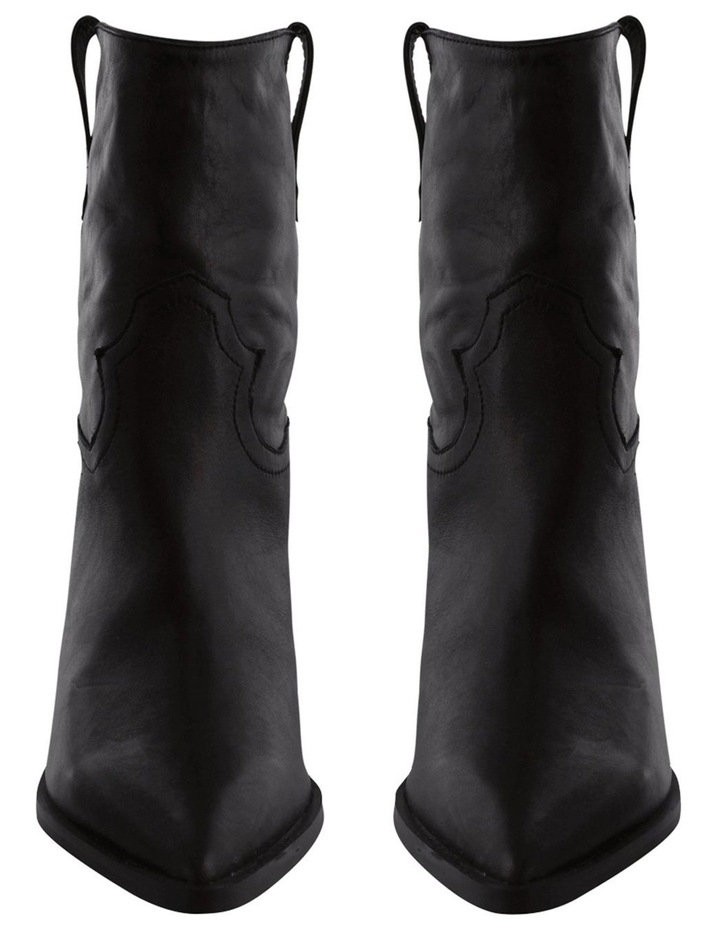 Scout Black Luxe Ankle Boot image 2