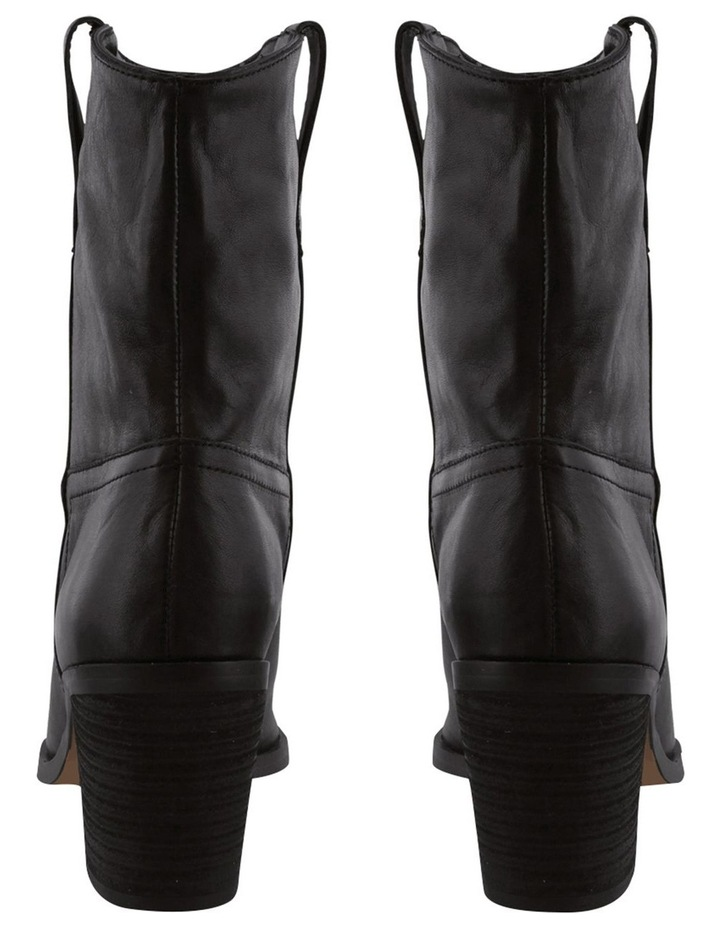 Scout Black Luxe Ankle Boot image 4