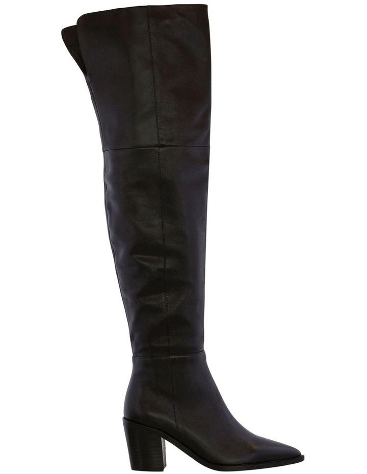 Stefani Black Como Long Boots image 1