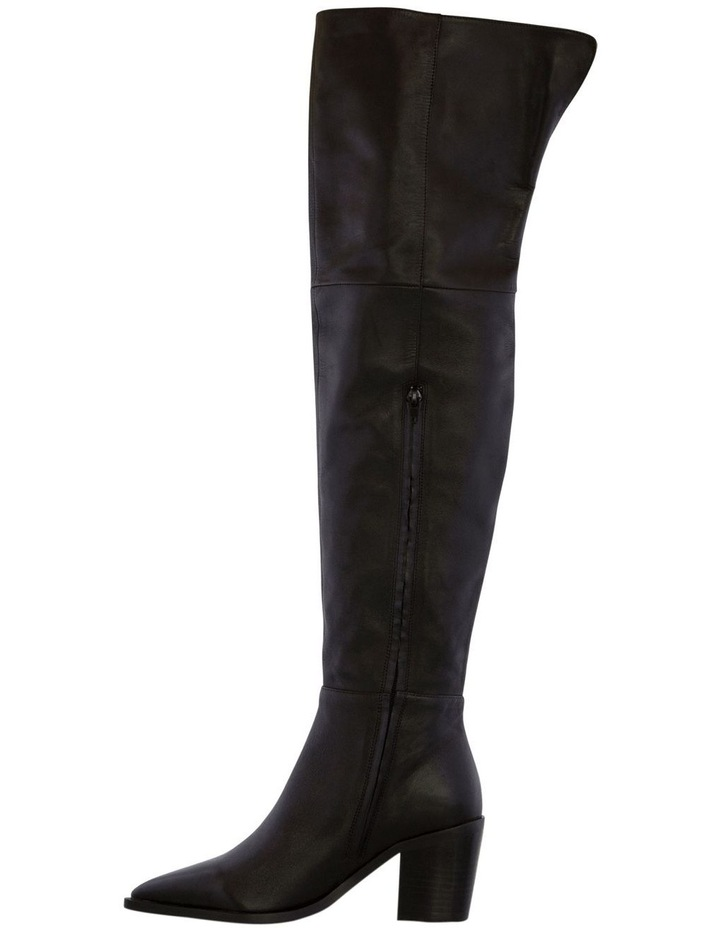 Stefani Black Como Long Boots image 3