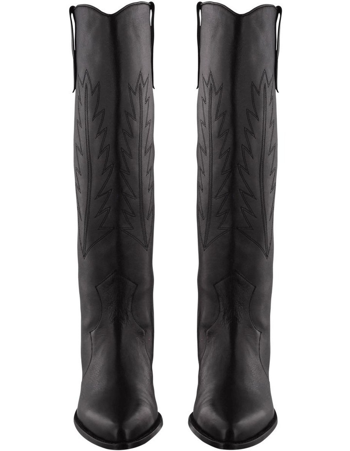 Wilde Black Luxe Boots image 2