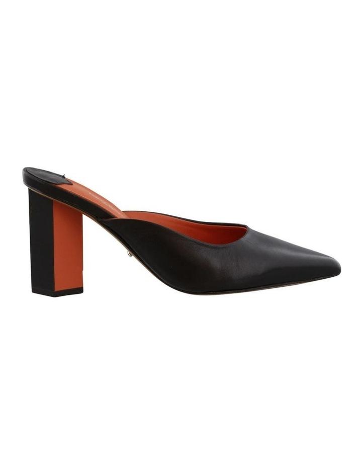 Electra Black Capretto/Orange Heels image 1