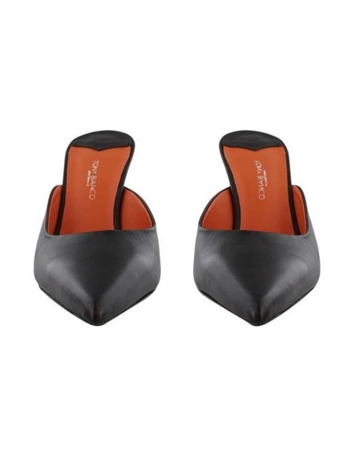 Electra Black Capretto/Orange Heels image 2
