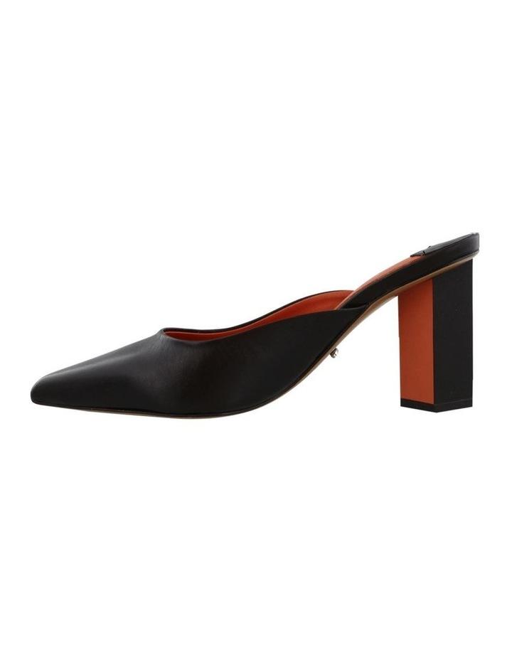 Electra Black Capretto/Orange Heels image 3