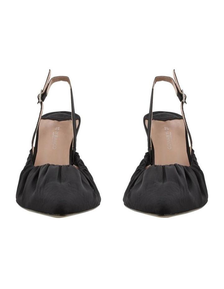 Eska Black Nylon Heels image 2