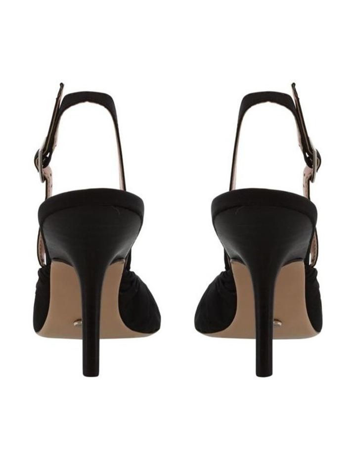 Eska Black Nylon Heels image 4
