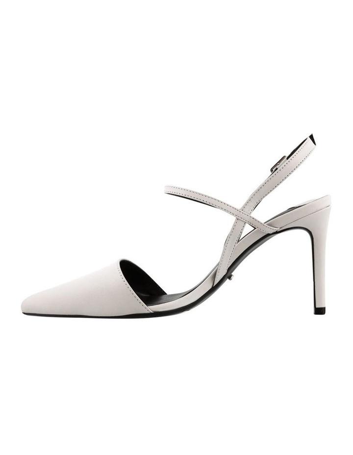Evar Milk Capretto Heels image 3