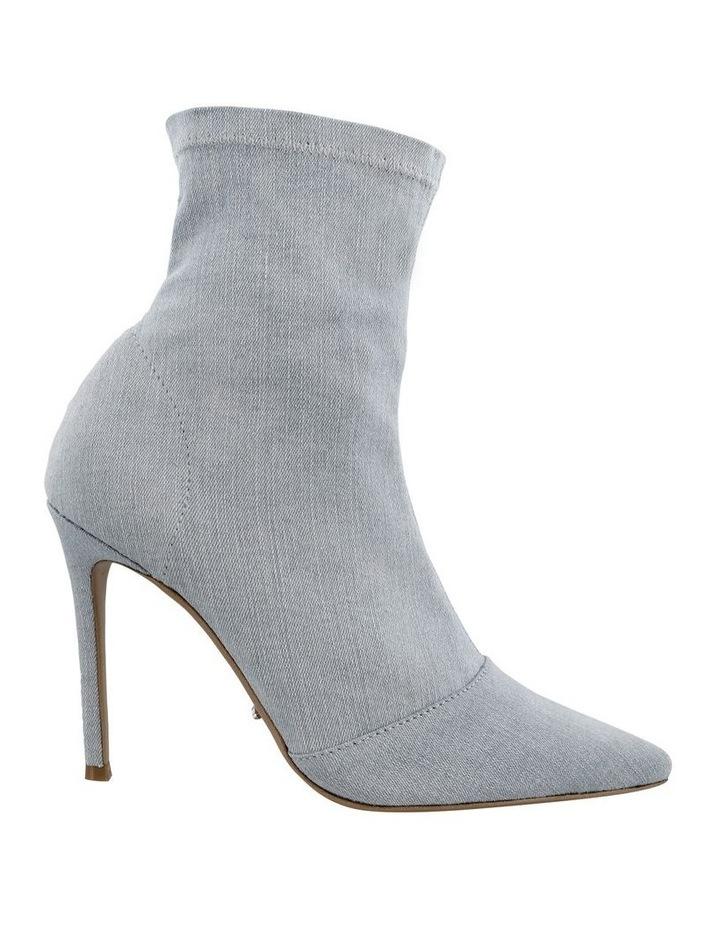 Lottie Blue Wash Denim Ankle Boots image 1