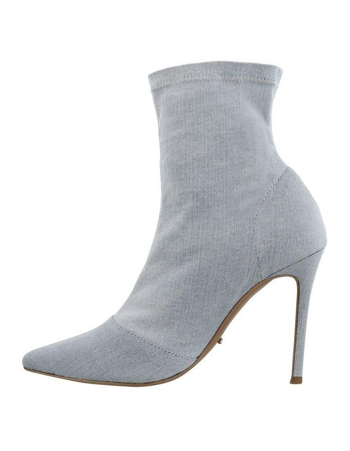 Lottie Blue Wash Denim Ankle Boots image 3