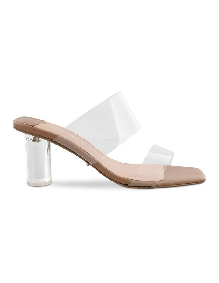 Sabelle Clear Vynalite/Skin Capretto Heels image 1