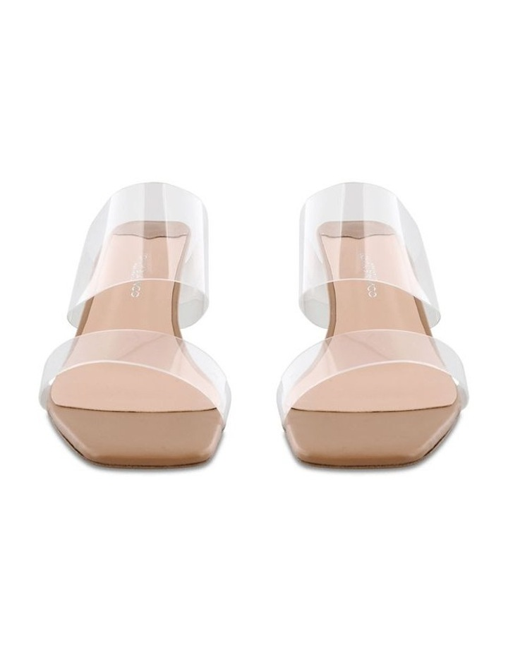 Sabelle Clear Vynalite/Skin Capretto Heels image 2