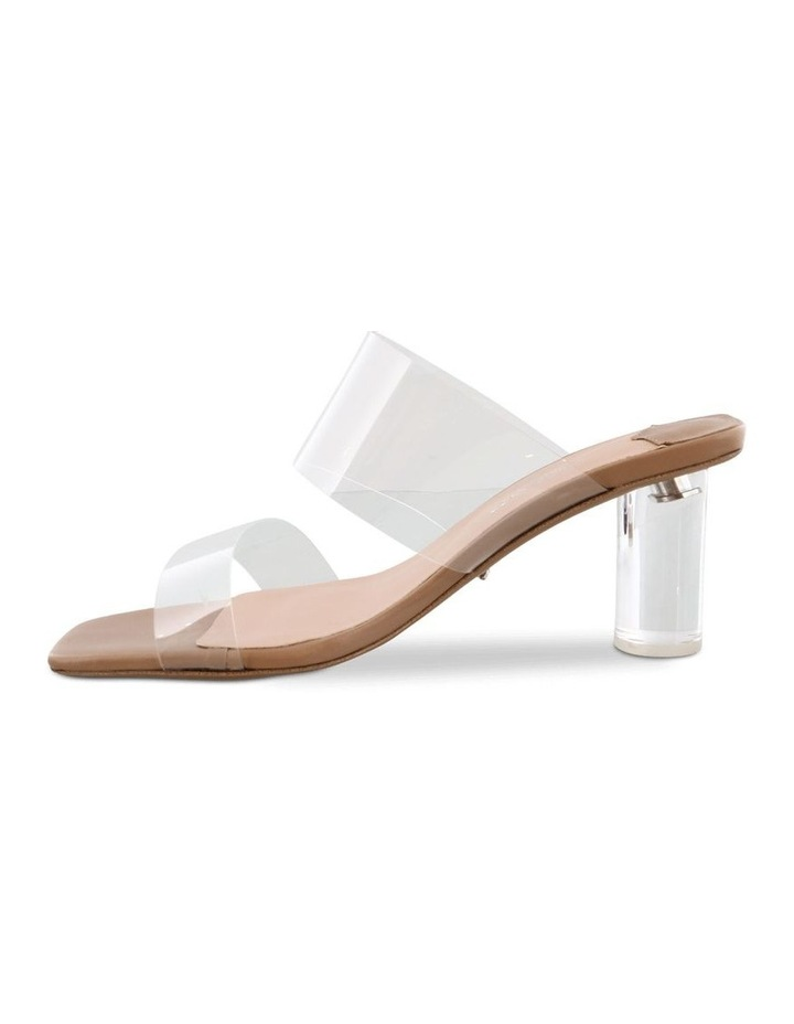 Sabelle Clear Vynalite/Skin Capretto Heels image 3