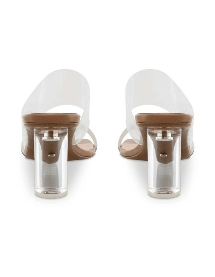 Sabelle Clear Vynalite/Skin Capretto Heels image 4