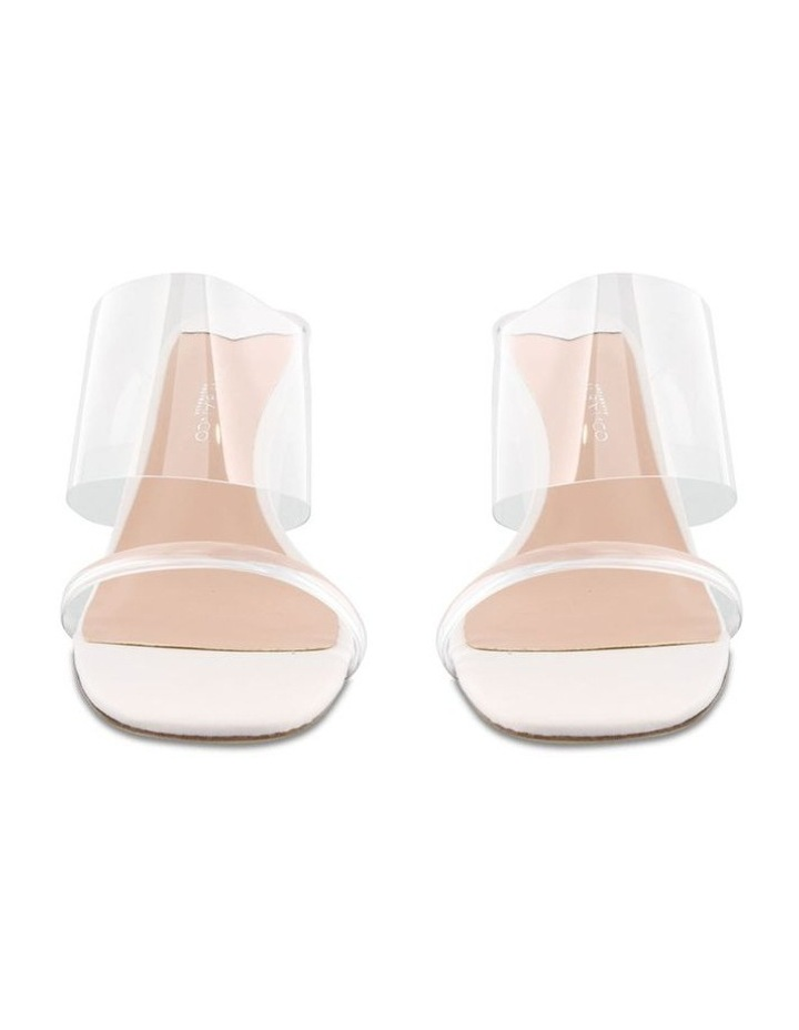 Tanya Clear Vynalite/Milk Capretto Wedges image 2