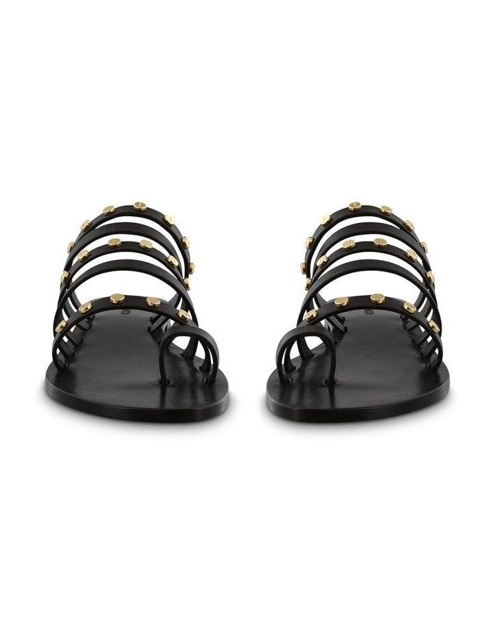 Tony Bianco Fern Black Sandals