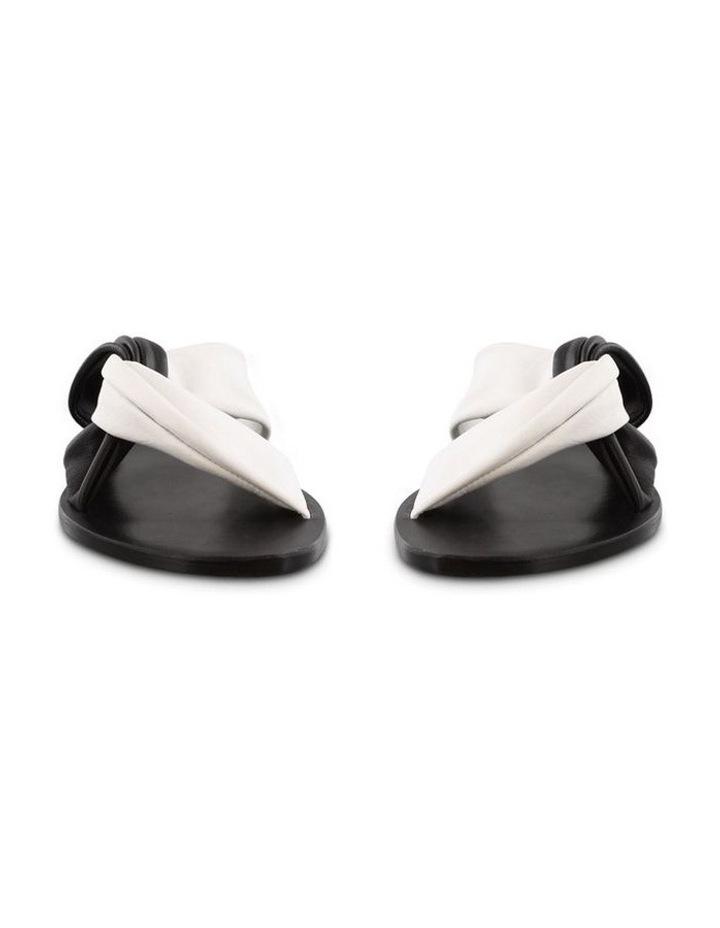 Faye Black/White Sandals image 2
