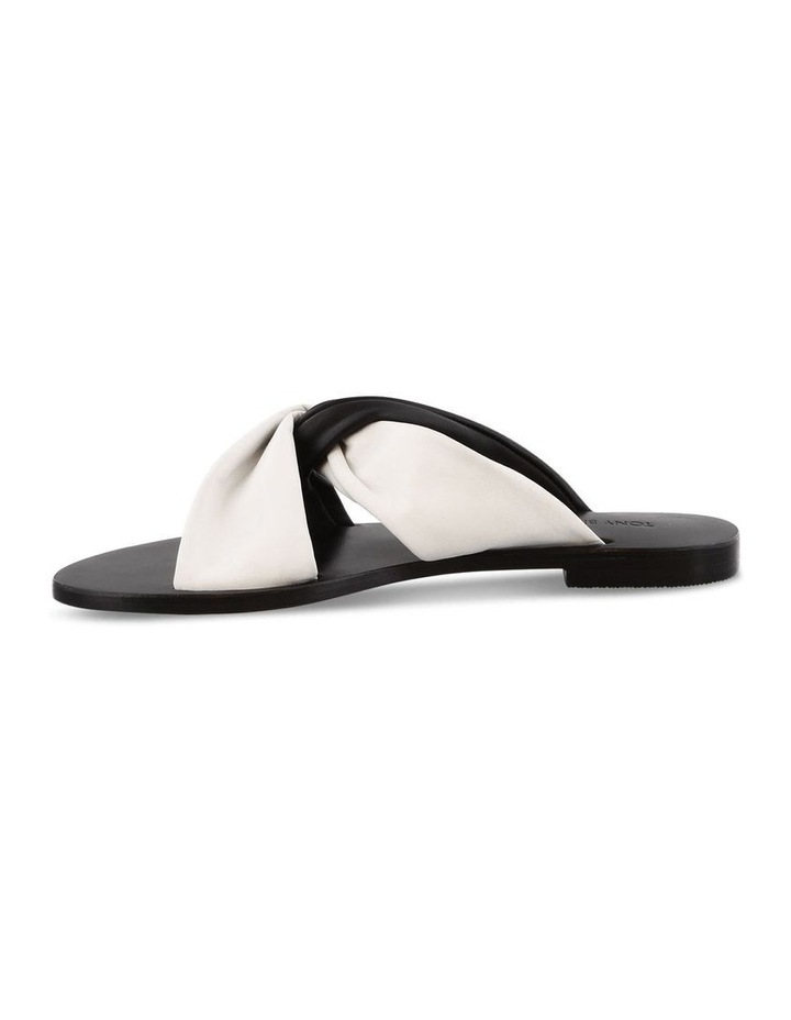 Faye Black/White Sandals image 3