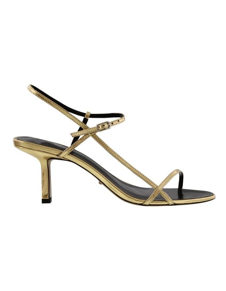 Caprice Gold Foil Heels image 1