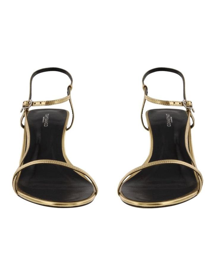 Caprice Gold Foil Heels image 2