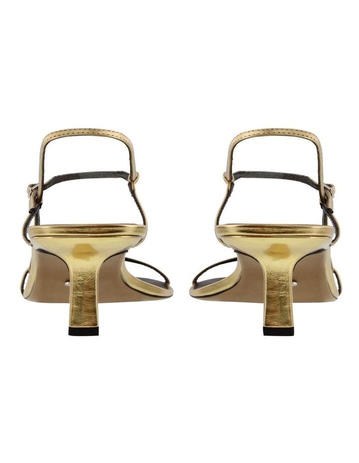 Caprice Gold Foil Heels image 3