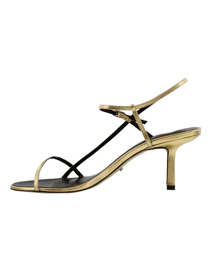 Caprice Gold Foil Heels image 4