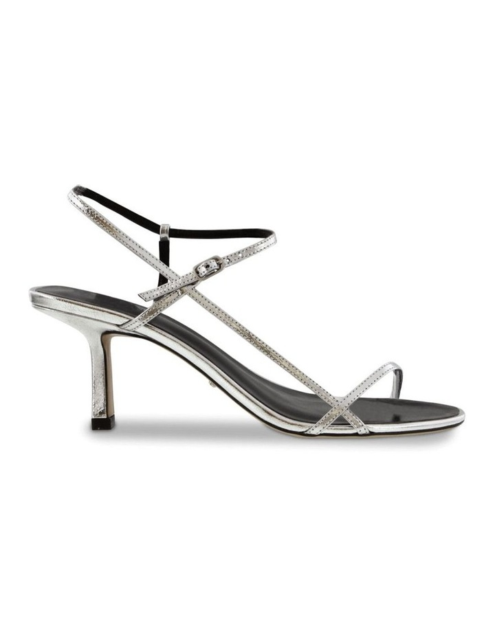 Caprice Silver Foil Heels image 1