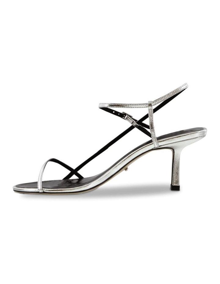 Caprice Silver Foil Heels image 3
