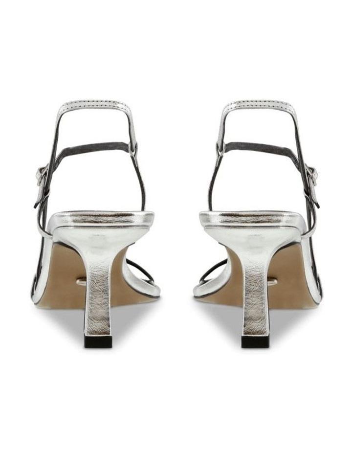 Caprice Silver Foil Heels image 4
