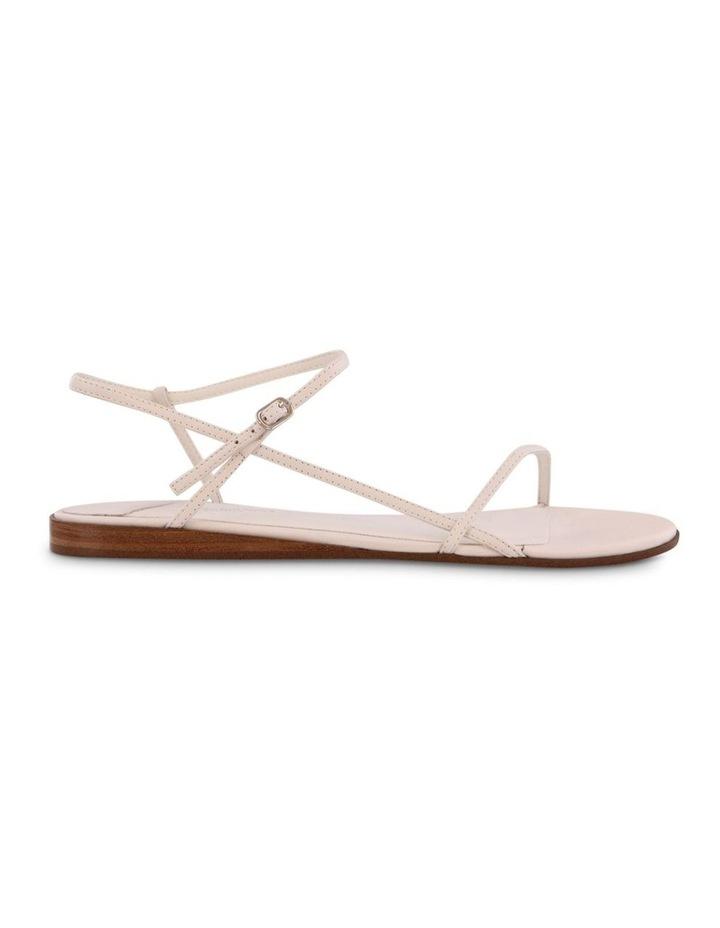 Jamey White Capretto Flat Sandals image 1
