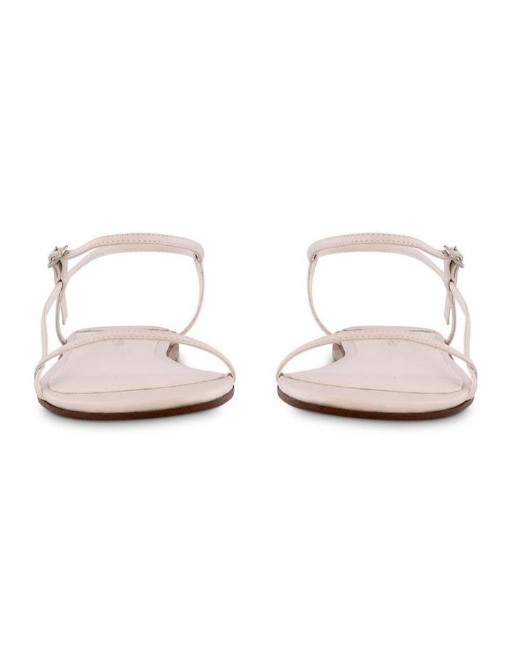 Jamey White Capretto Flat Sandals image 2