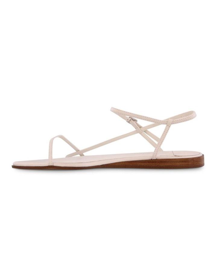 Jamey White Capretto Flat Sandals image 3