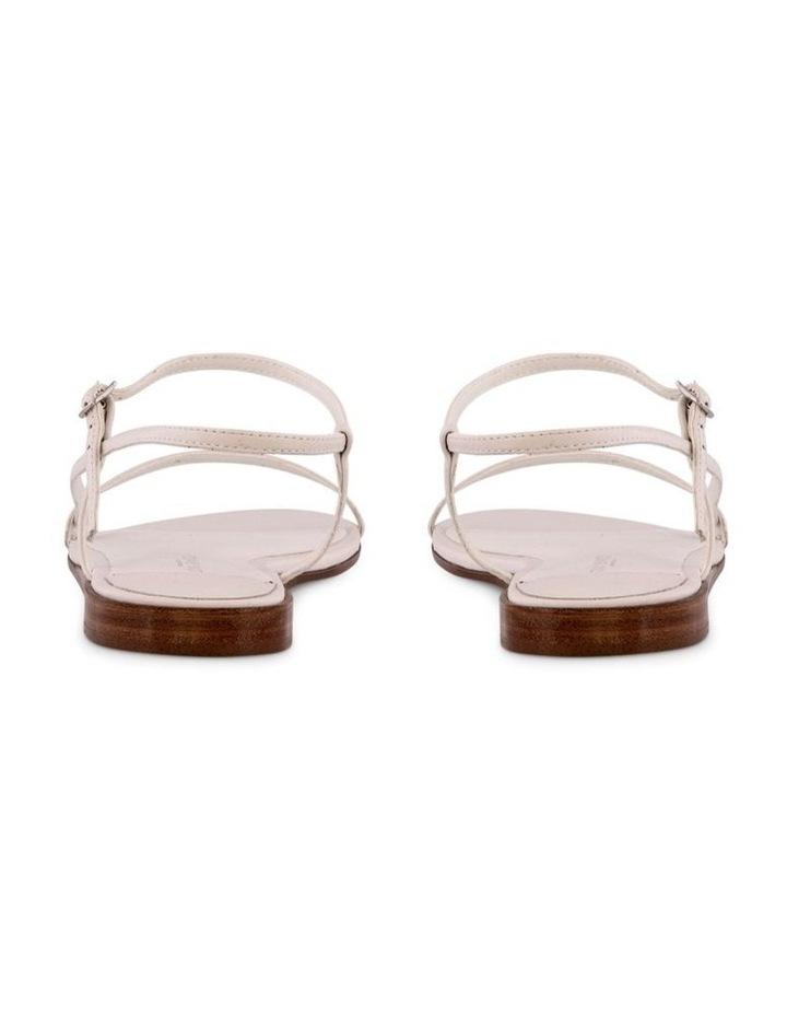 Jamey White Capretto Flat Sandals image 4