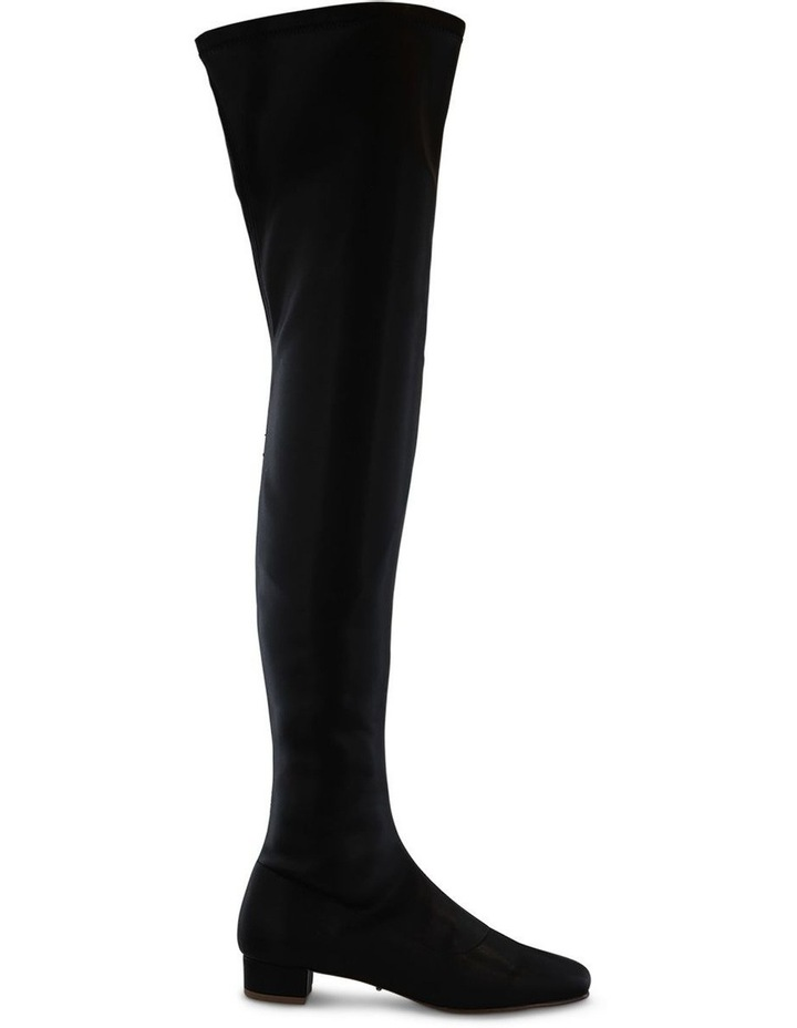 Angie Black Stretch Long Boot image 1