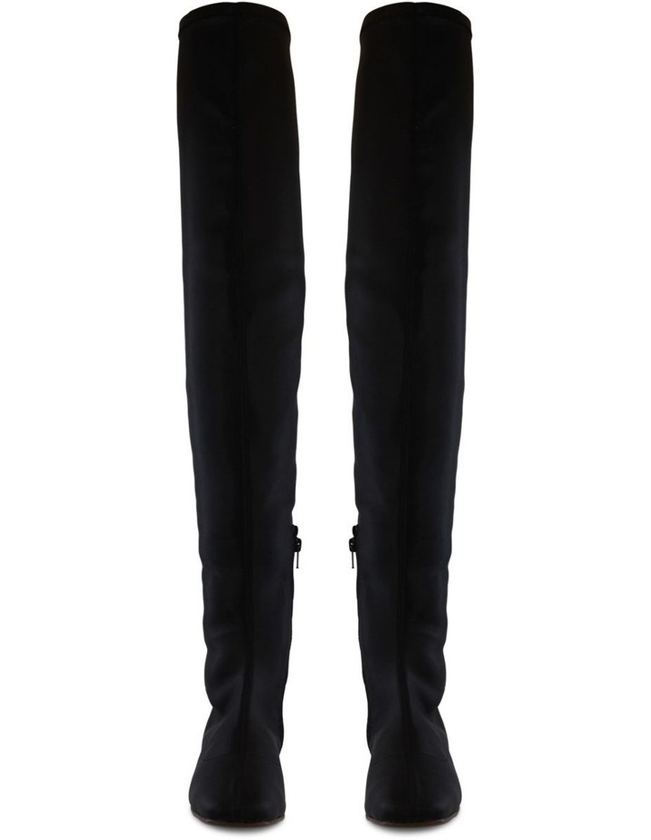 Angie Black Stretch Long Boot image 2