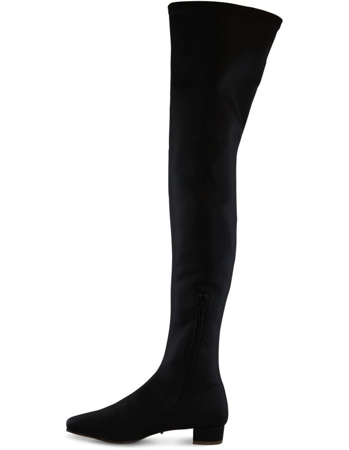 Angie Black Stretch Long Boot image 3
