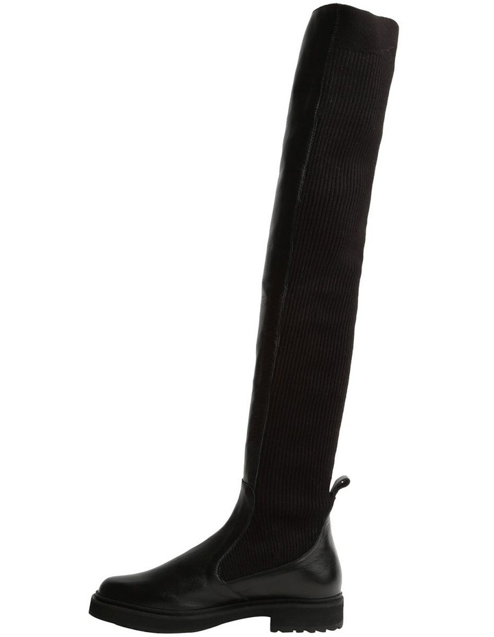 Gilda Black Luxe Long Boot image 3