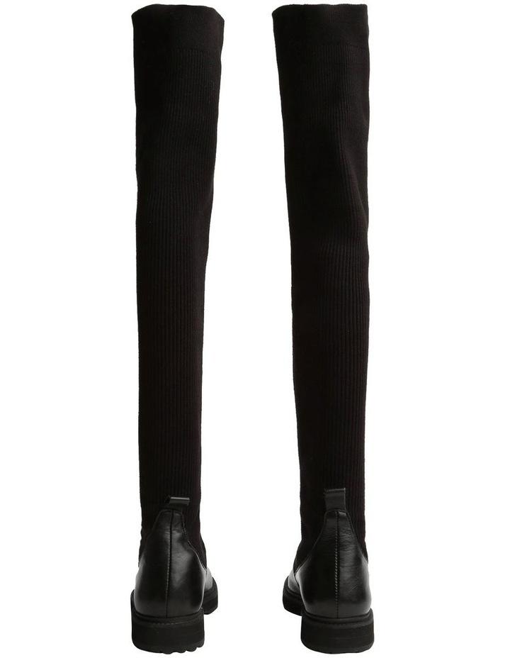 Gilda Black Luxe Long Boot image 4