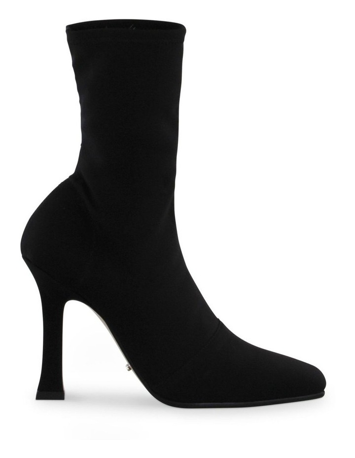 Hail Black Micro Stretch Ankle Boots image 1