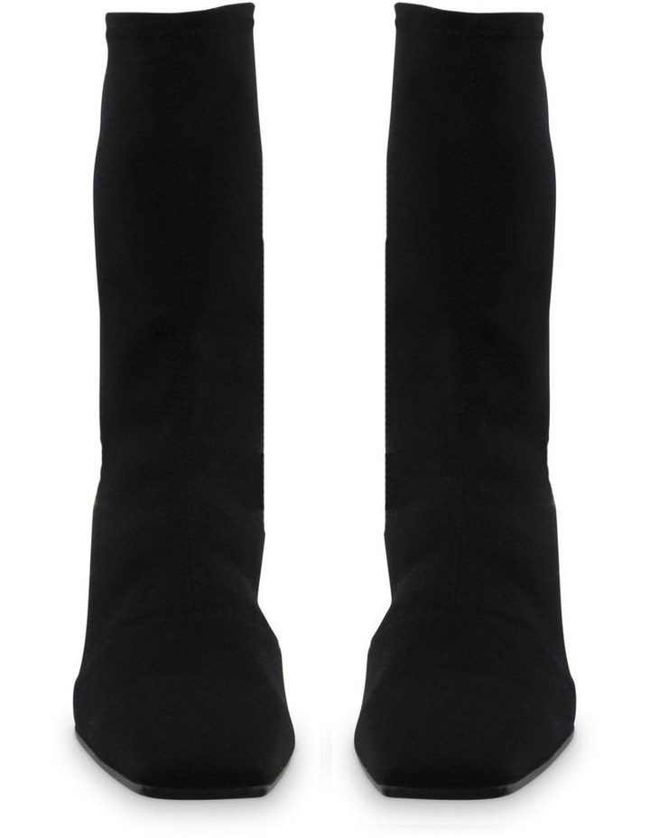 Hail Black Micro Stretch Ankle Boots image 2