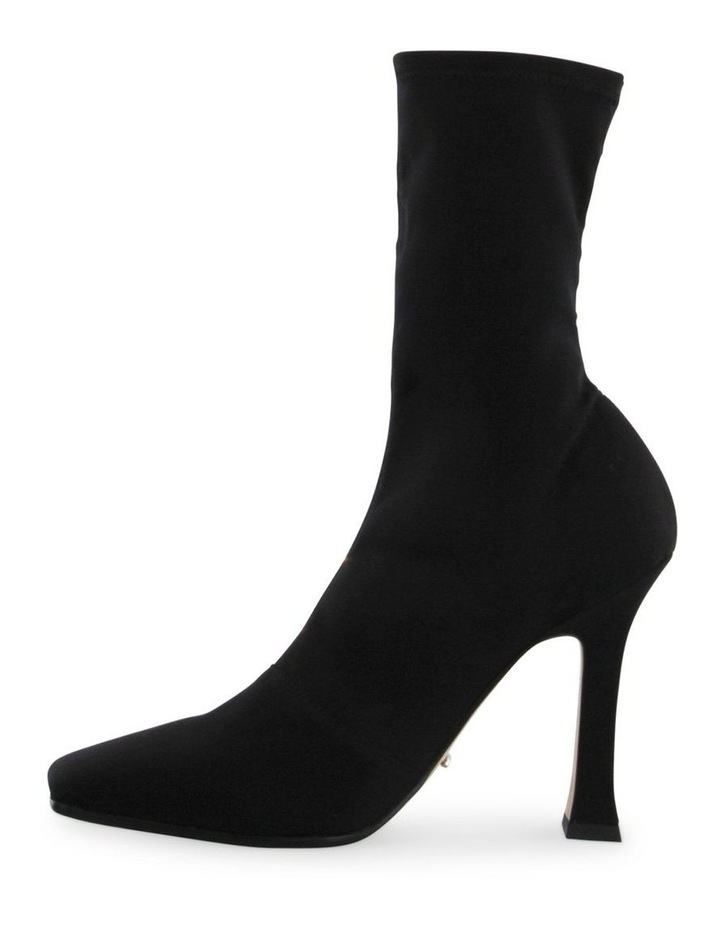Hail Black Micro Stretch Ankle Boots image 3