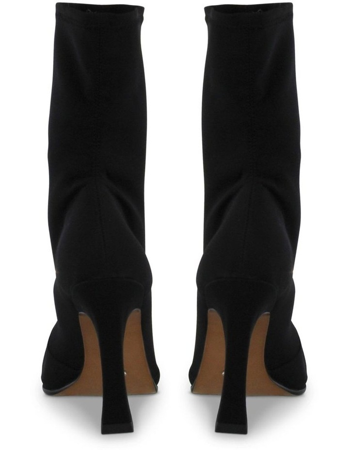 Hail Black Micro Stretch Ankle Boots image 4