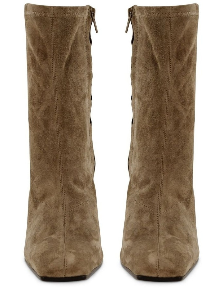 Halee Sicily Stretch Kid Suede Ankle Boots image 2