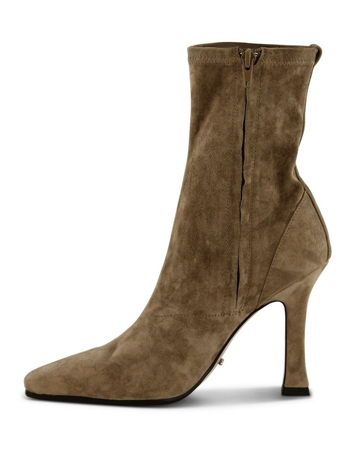 Halee Sicily Stretch Kid Suede Ankle Boots image 3