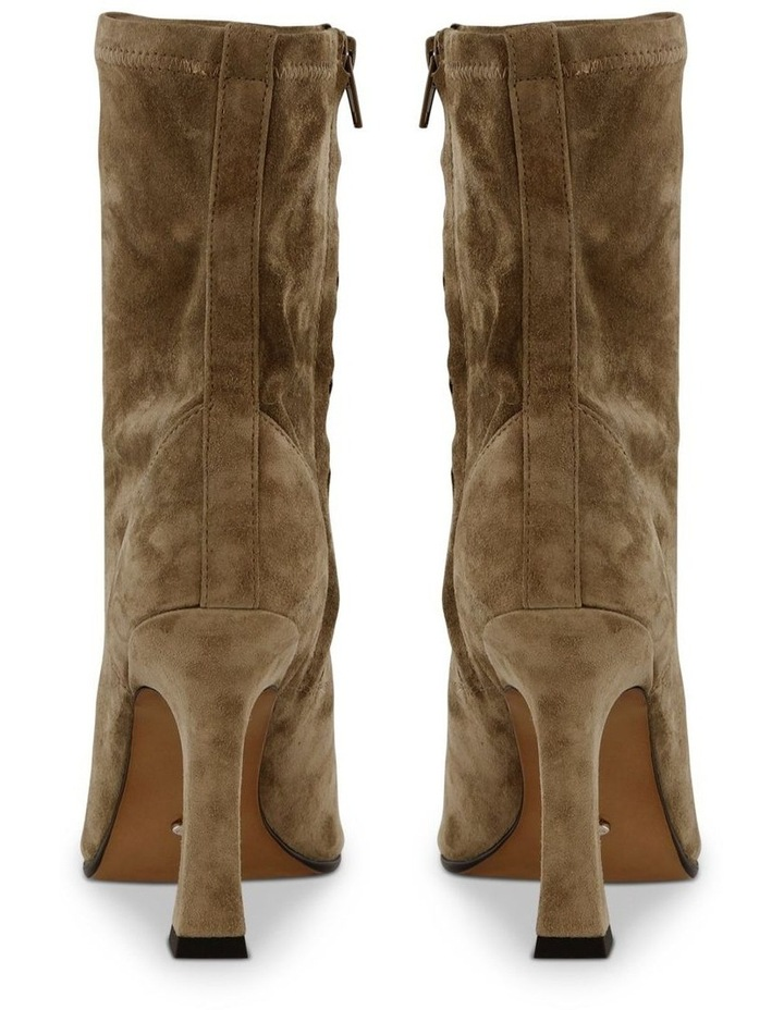 Halee Sicily Stretch Kid Suede Ankle Boots image 4