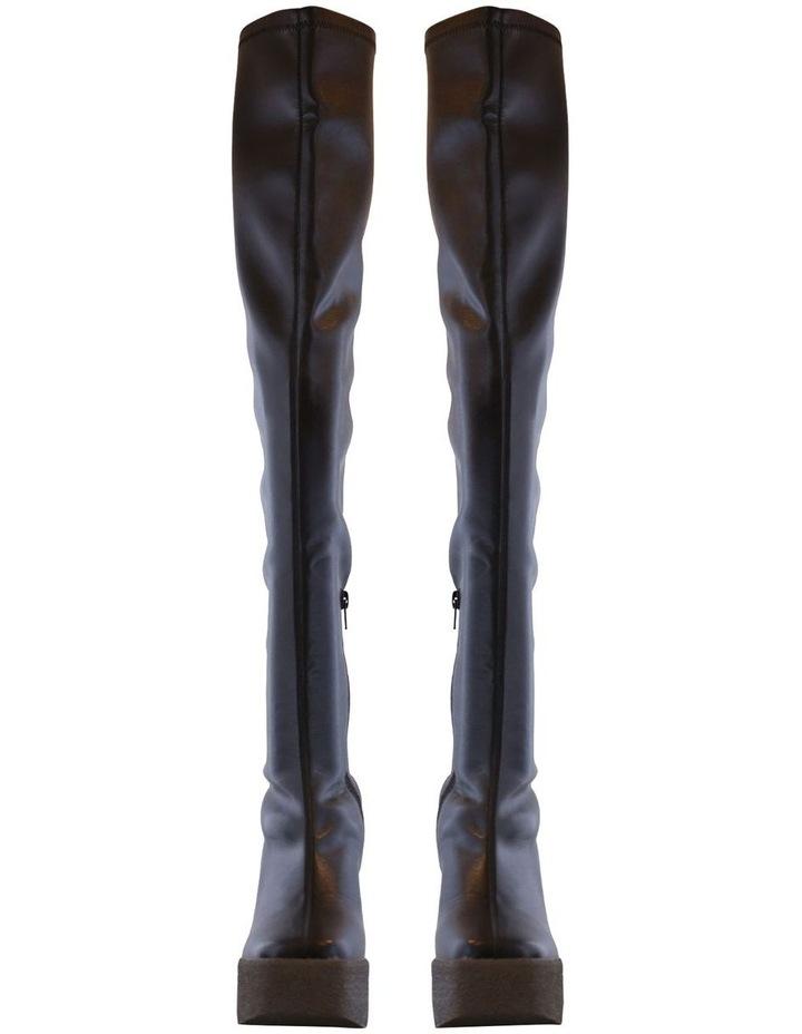 Janey Black Stretch Long Boots image 2